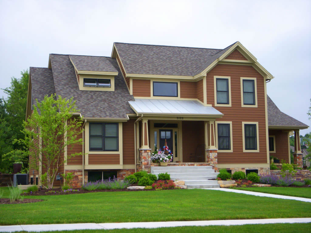 Shurlow custom home images - Home painting exterior model ...